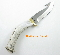 Silver Stag Big Gamer Hunting Knife Crown Burr Antler  D2  Steel