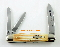 Case Humpback Whittler Folding Knife Second Cut Stag