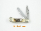 Rough Rider  Micro Trapper Folding Knife Stag Handles