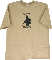 T-Shirt Tops Knives Logo Tan XXLarge