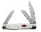 Case  Stockman  Folding Pocket Knife White Handles
