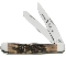 Case Prime XX Stag Handle Trapper Folding Knife