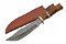 "Damascus 12"" Rock Mountain Bowie Fixed Blade Hunting Knife"