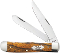 Case XX 26255 Smooth Zebra Wood Trapper Folding Knife