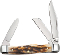 Case Cutlery CA52955 Prime Vintage Stag Stockman Folding Knife