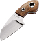 Boker BO238 Gnome Fixed Blade Olive Wood 440 Stainless